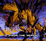 Primal Rage Game Gear Intro: the draconians were born...