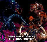 Primal Rage Game Gear Who will rule the new Urth?