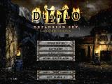 Diablo II: Lord of Destruction Windows Main Menu