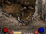 Diablo II: Lord of Destruction Windows New town, new NPCs, and new quests.