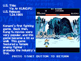 Konami Arcade Classics PlayStation Each game has a brief history page.