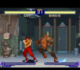 Street Fighter Alpha 2 SNES Before beginning any counterattacks, Guy must have some blocking-priority with Birdie's Bull Horn...