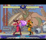 Street Fighter Alpha 2 SNES In a certain moment, Rose tries to attack Rolento using her Strong Punch, but he is out of range...
