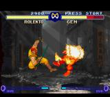 "Street Fighter Alpha 2 SNES Through his throwing move Deadly Package, Rolento could inflict some ""explosive"" damage in Gen..."