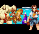Street Fighter Alpha 2 SNES Introduction frame: a mix of old-school fighters and newcomers...