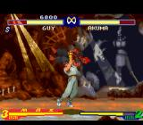 Street Fighter Alpha 2 SNES Guy starts a counterattack over Akuma, and through his grabbing move Bushin Izuna Otoshi, he gets.