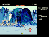 Konami Arcade Classics PlayStation Yie Ar Kung-Fu - A jumping punch is often better than the regular flying jump against Star's stars.
