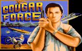 Cougar Force DOS Title screen (VGA)