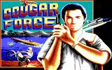 Cougar Force DOS Title screen (EGA)