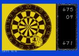 Pub Darts Atari 8-bit Going for the bullseye
