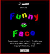 Funny Face Windows Title screen