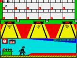 Tenpin Challenge ZX Spectrum Down they go, this time