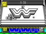 WWF Wrestlemania ZX Spectrum Pinned down
