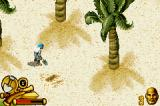Pirates of the Caribbean: The Curse of the Black Pearl Game Boy Advance Digging for treasure.