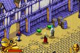 Pirates of the Caribbean: The Curse of the Black Pearl Game Boy Advance Green potions restore Jack's health.