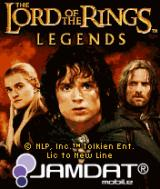 The Lord of the Rings: Legends J2ME Title screen