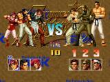 The King of Fighters '95 PlayStation Setting the battle order