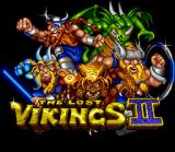 Norse by Norse West: The Return of the Lost Vikings SNES Title screen.