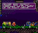 Norse by Norse West: The Return of the Lost Vikings SNES Our heroes have been caught again by the evil Tomator.
