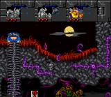 Norse by Norse West: The Return of the Lost Vikings SNES Olaf, in a not very comfortable position...