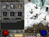 Diablo II: Lord of Destruction Windows Checking your quest logs just b4 entering the cave.