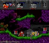 Norse by Norse West: The Return of the Lost Vikings SNES Eric, having trouble by removing his helm.