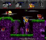 "Norse by Norse West: The Return of the Lost Vikings SNES Olaf can use his ""internal gases"" to avoid falling too fast."
