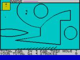 Crazy Golf ZX Spectrum Spectrum BASIC circles are shown off here