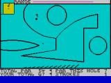 Crazy Golf ZX Spectrum Angle rebounds are less precise