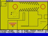 Crazy Golf ZX Spectrum In a difficult position