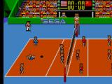 Great Volleyball SEGA Master System Yes, your characters fall down a lot.