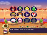 Mario Party 7 GameCube Select a character.