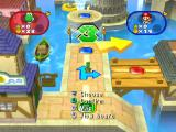 Mario Party 7 GameCube The game board; what way should Yoshi go here?