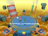 Mario Party 7 GameCube Jump over the electric sparks to avoid being thrown out of the arena.