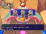 Mario Party 7 GameCube Visit an orb shop to buy items.