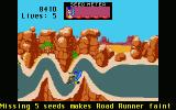 Road Runner Atari ST Game over