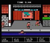 Downtown Nekketsu Kōshinkyoku: Soreyuke Daiundōkai NES Pushing your opponents into the water is not uncommon