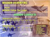 JetFighter IV: Fortress America Windows Debriefing...