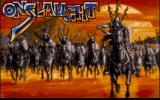 Onslaught DOS Title screen (VGA)