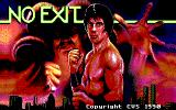 No Exit DOS Title screen (EGA)