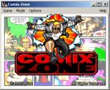 Comix Zone Windows Title screen