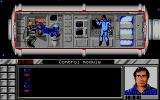 Murders in Space DOS Exploring the interior of the space station. (VGA)