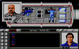 Murders in Space DOS Getting a better look at the heroic astronauts who are all prime suspects. (VGA)