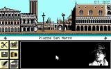 Murders in Venice DOS Starting view (EGA)
