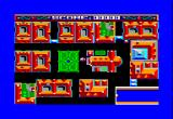 Atomic Driver Amstrad CPC Exploring the town during introduction...