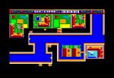 Atomic Driver Amstrad CPC Shooting the block by ricochet...