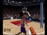 NBA Live 2003 PlayStation Three-point shooting.