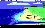 King's Quest IV: The Perils of Rosella DOS AGI: Opening Screen