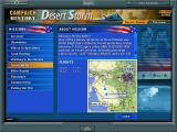 Jane's Combat Simulations: USAF Windows Choose the Vietnam, Desert Storm or the Future campaign.