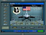 Jane's Combat Simulations: USAF Windows Load your aircraft with missiles, bombs, drop tanks...
